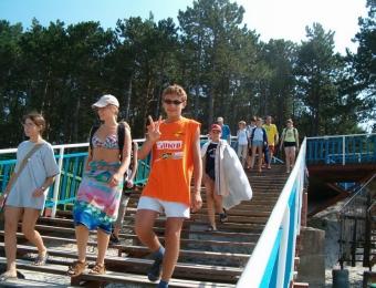 Letni obóz w Dźwirzynie 2004