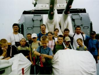 Letni obóz w Jastarni 2003