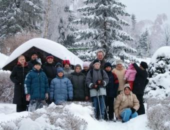 Zimowy obóz w Borowicach 2005